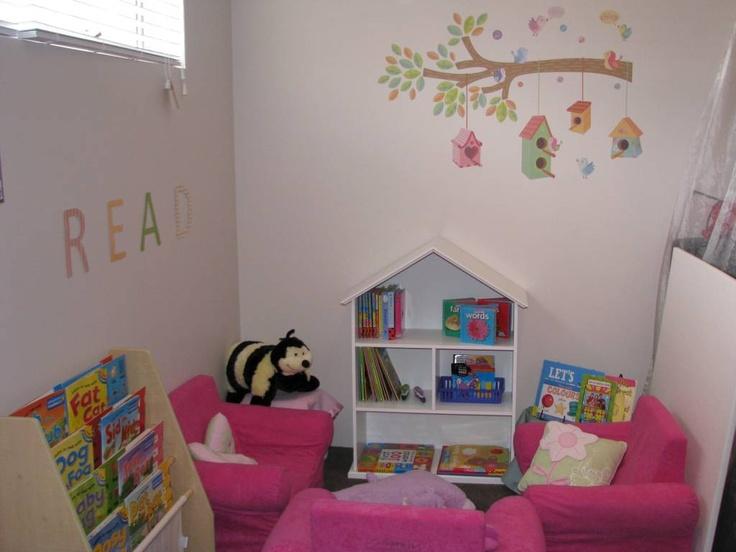 Create a cosy reading corner