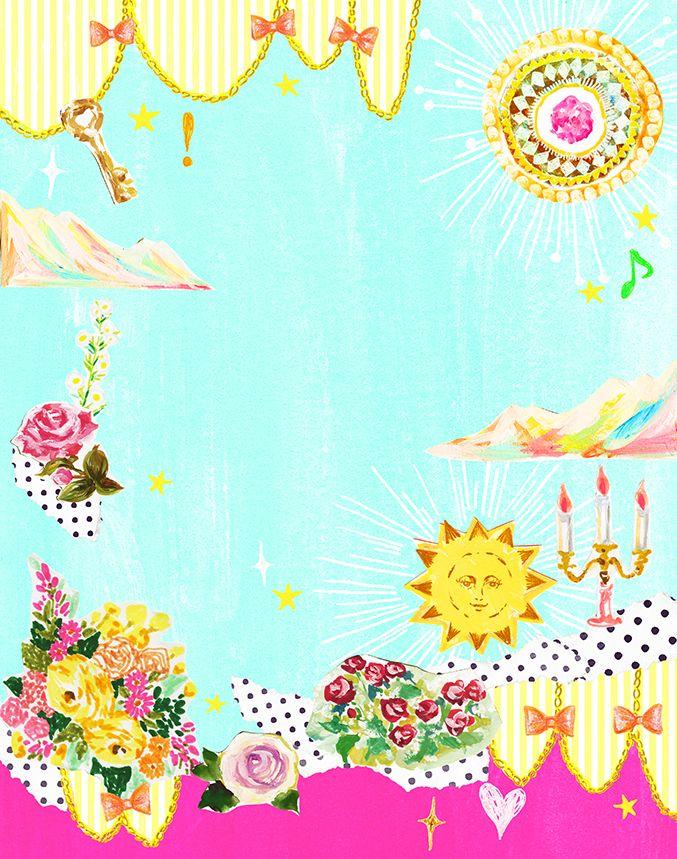 #anan #animal #frame #枠 #動物 #広告 #花 #flower #デザイン #お洒落 #可愛い #線画 #コラージュ #collage #illustration #kanakobayashi #art #illust