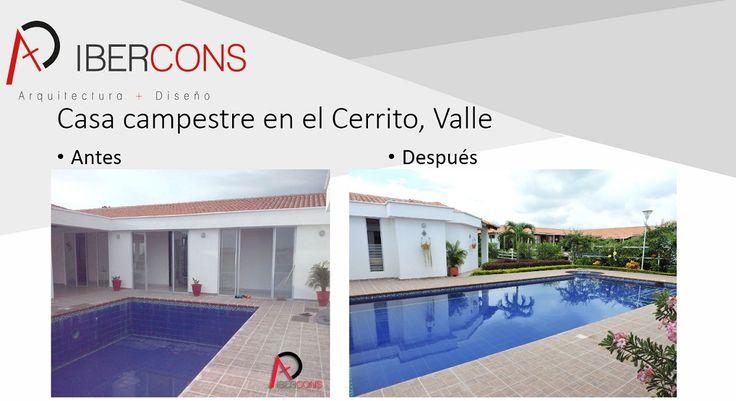 En Ibercons Arquitectura + Diseño trabajamos tus proyectos arquitectónicos con calidad y excelencia. Visita nuestra pagina web: www.ibercons.com.co