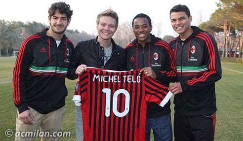 MICHEL TELO VISITS THE MILANELLO