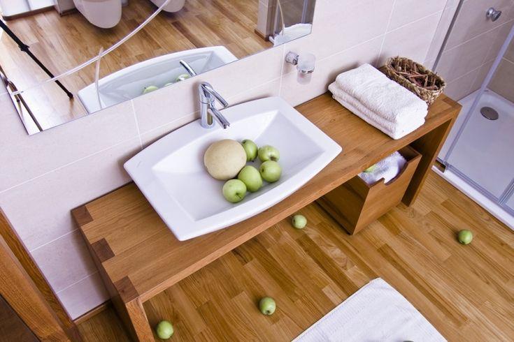 koupelna dřevěný nábytek - Hledat Googlem