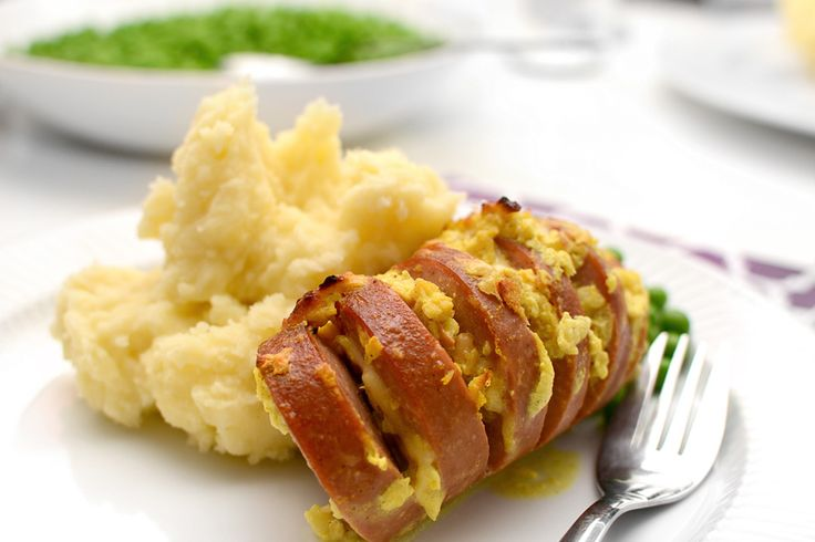 Falukorv i ugn med curry och äpple | Middagstips & enkla recept på vardagsmat