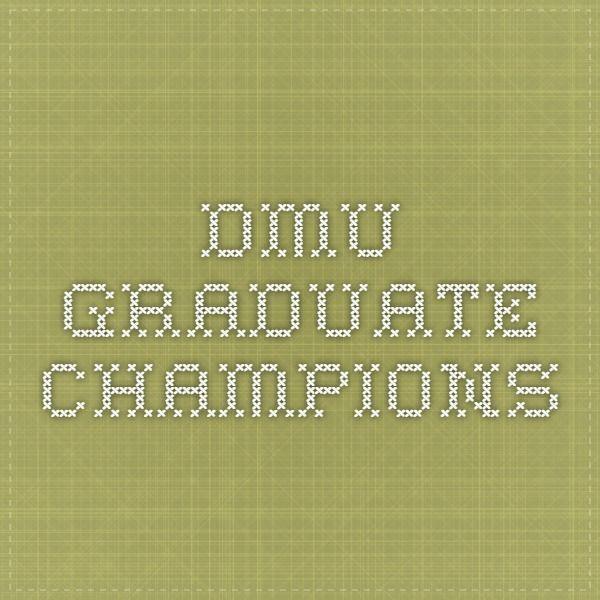 DMU Graduate Champions Case Studies