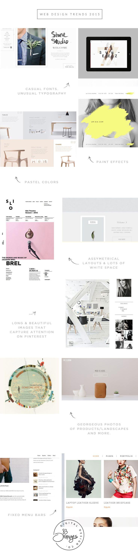 Web Design Trends & Inspiration 2015 Vol. 1