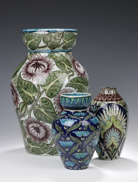William de Morgan vases,  England 1885 | The House of Beccaria