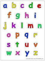 Lower+Case+Colored+Letters