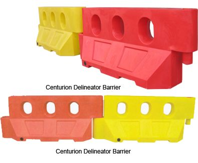 Ideal for car parking areas, foot paths, pedestrian, delineation. Indeed anywhere where you need a smaller barrier .  http://centurionbarriersystems.com.au/