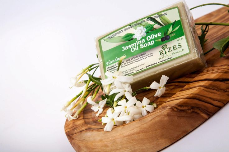 Rizes Crete - Jasmine Olive Oil Soap