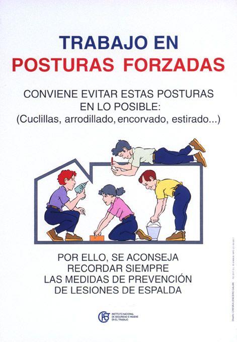 TRABAJO EN POSTURAS FORZADAS