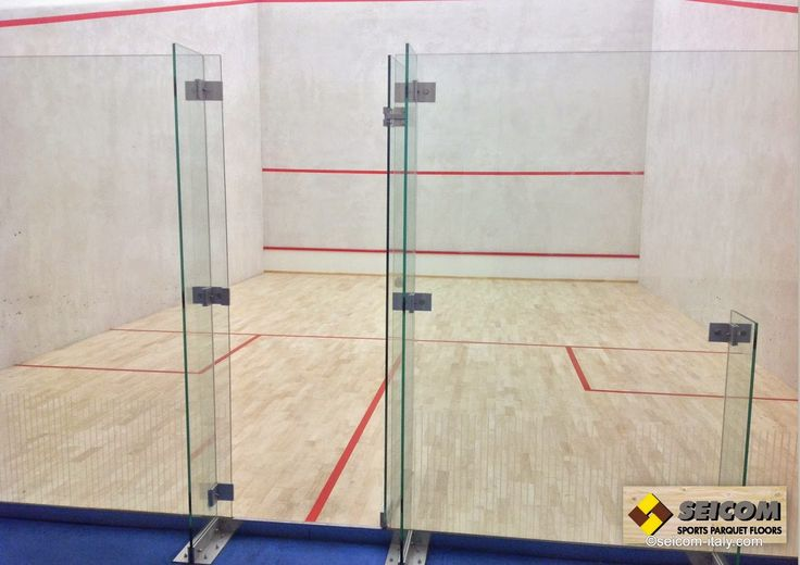 sports parquet floors Seicom : GUERRILLA Squash with SEICOM Sports parquet