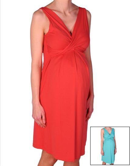 Vestido premamá tirantes cruzado JADE [v1427j] - 56,22€ : Tienda premamá online. Moda prenatal para embarazadas y ropa interior para embarazo y lactancia., Demamis.com