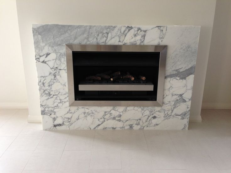 Arabescato Vagli Fireplace Supplied and Installed by Euro Marble