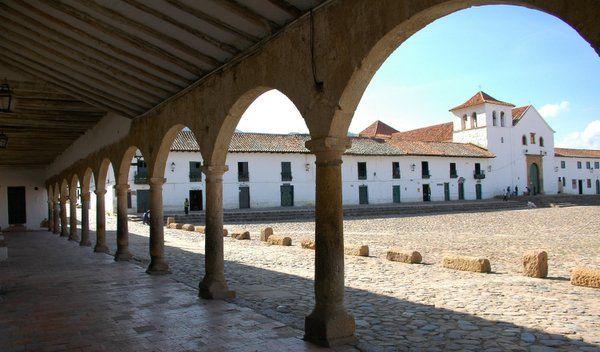 Villa de Leyva, patrimonio arquitectónico de Colombia.
