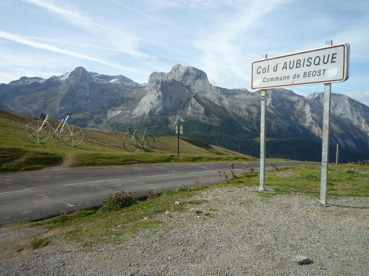 Col d'Aubisque - this summer