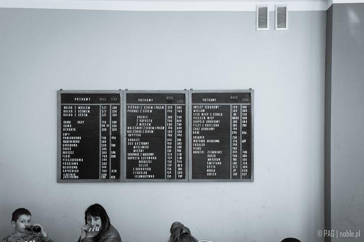 Old-school milk-bar in Zielona Góra, western Poland  Bar mleczny w Zielonej Górze
