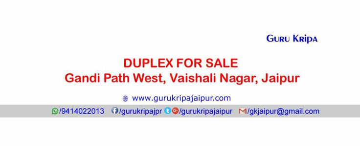 Jda Approved Duplex 75 Sq Yds House for Sale Gandhi Path West Vaishali Nagar Jaipur