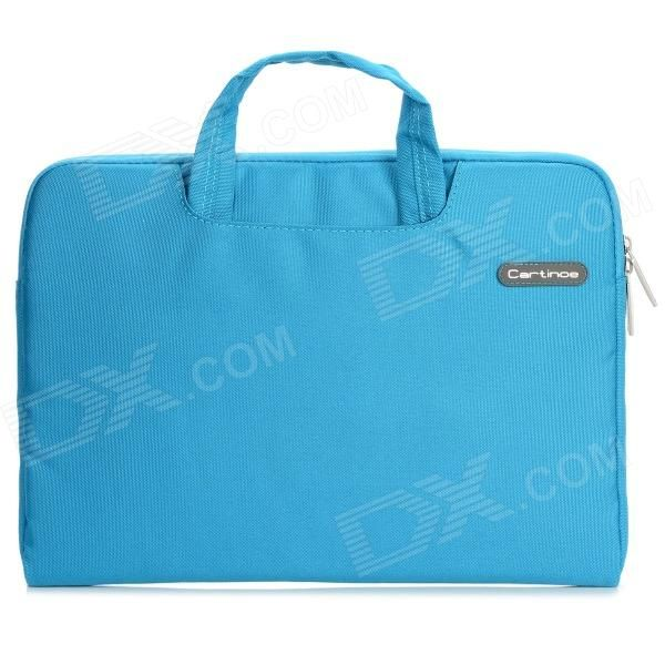 "Cartinoe Laptop Inner Bag   Coin Purse   Mousepad for Apple MacBook Air / Pro 13.3"" Tote Bag - Blue Price: $23.56"