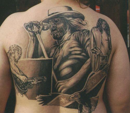 lynyrd skynyrd tattoo buscar con google tattoo pinterest tattoos and body art search. Black Bedroom Furniture Sets. Home Design Ideas