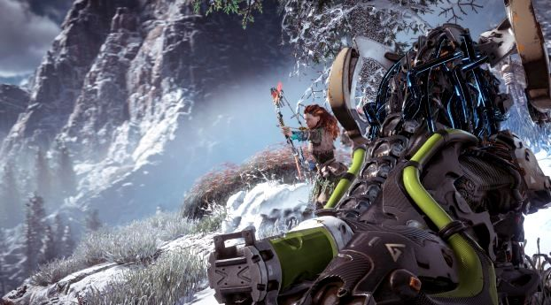Horizon Zero Dawn Wallpaper 4k Iphone Trick Di 2020