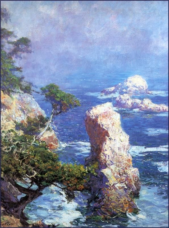 Mist Over Point Lobos (1918) - Guy Rose