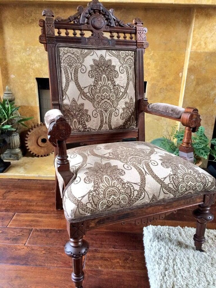 Beautiful Eastlake chair
