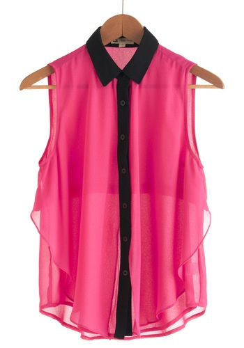 Pink What You Will Top, #ModClothSummer Shirts, Black Tanks Tops, Hot Pink, Nice Tops, Nice Clothing, Fashion Inspiration, Vintageinspir Shirts, Vintage Inspiration, Casual Clothing