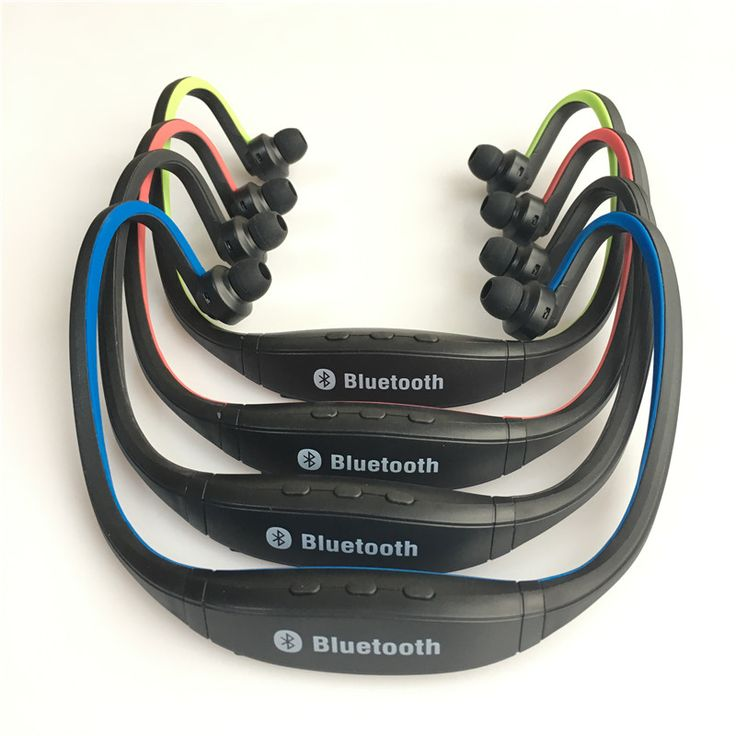 S9 Bluetooth Deporte Auricular Plus Ranura Para Tarjeta SD Auriculares Banda Para El Cuello Auriculares Auriculares Micrófono para Iphone Huawei XiaoMi Teléfono
