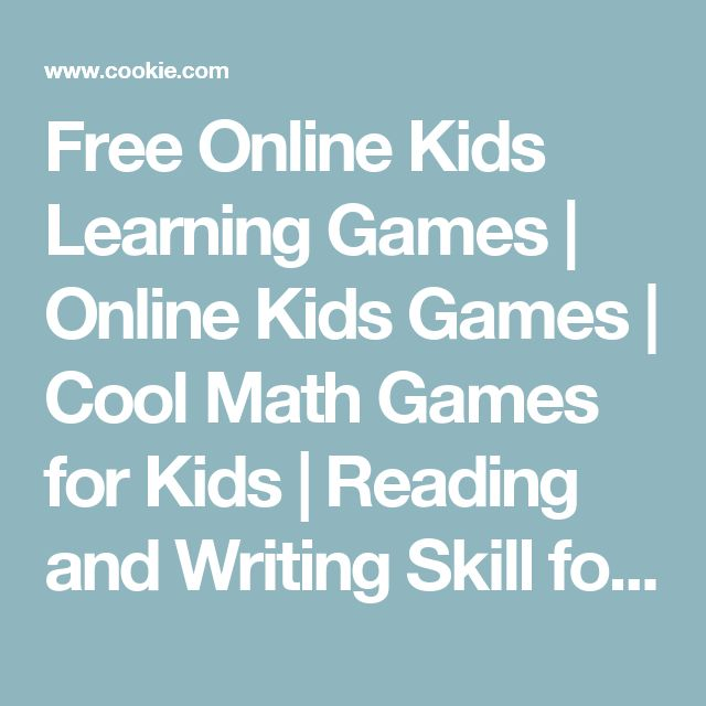 1000+ ideas about Online Kids Games on Pinterest   Math Worksheets ...