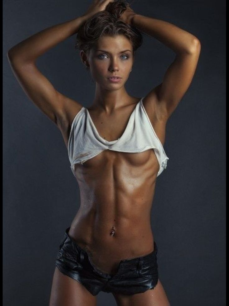 White Top Great Abs  Fitness  Pinterest  White Tops -5021