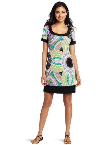 Sexy Dresses to get / Tiana B Mosaic Retro Dress! Hot! Sale $39.99!  Who can ignore this dress at this price!Dresses Pattern, Dresses 39 99, Sleeve Retro, Retro Dresses, Women Mosaics, Dresses 3999, Mosaics Shorts, Shorts Sleeve, Dresses Classy
