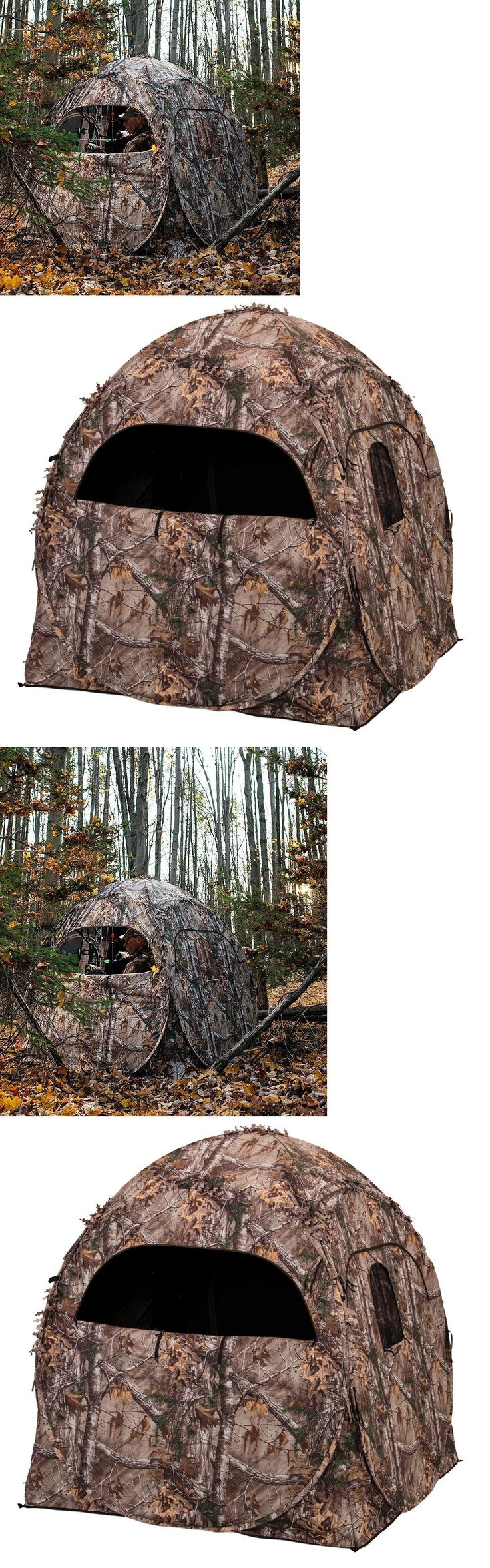 Blinds 177910: Camo Hunting Ground Blind Bird Watching Realtree Outdoor Gun Bow Deer Shooting -> BUY IT NOW ONLY: $76.07 on eBay!