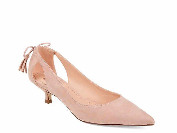 Women S Low Heel 1 2 Dress Pumps Sandals Dsw Heels Women Shoes Womens Low Heels