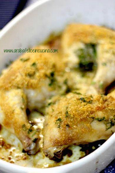 Arabafelice in cucina!: Pollo al parmigiano e pangrattato
