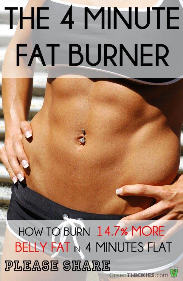 The 4 Minute Fat Burner | Fitnezready