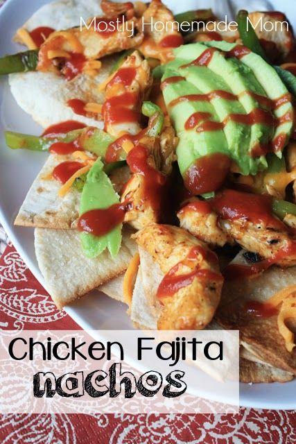 Chicken Fajita Nachos and an Old El Paso Giveaway!