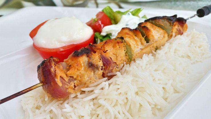 Shish taouk- Kycklingkebab