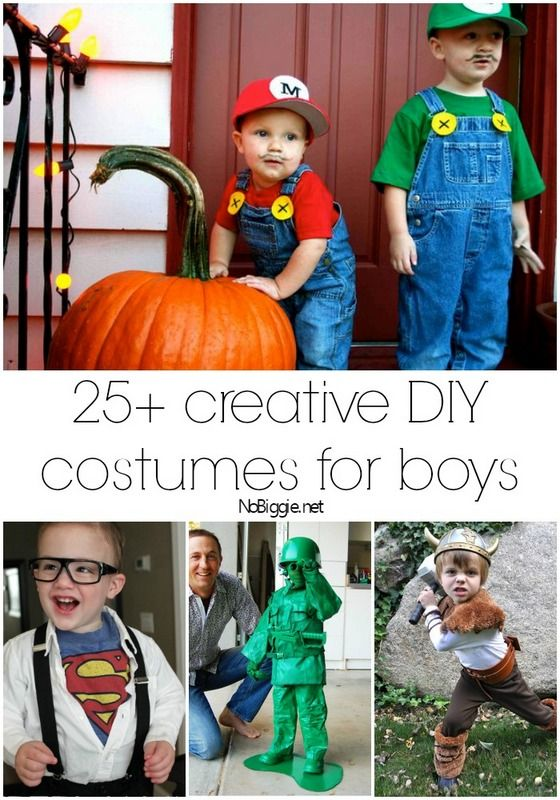 Little boys are full of imagination! Halloween is a great time to let them express that creativeness in their costume. Of course, you don't want to break the bank in the process, so here are some a...