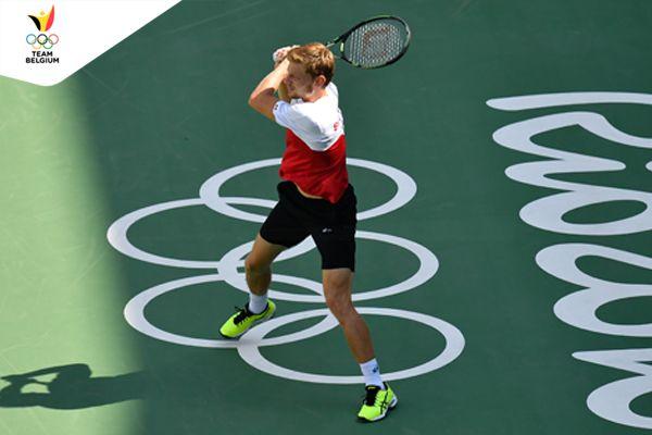 Olympics Rio 2016 | Team Belgium - David Goffin - Tennis