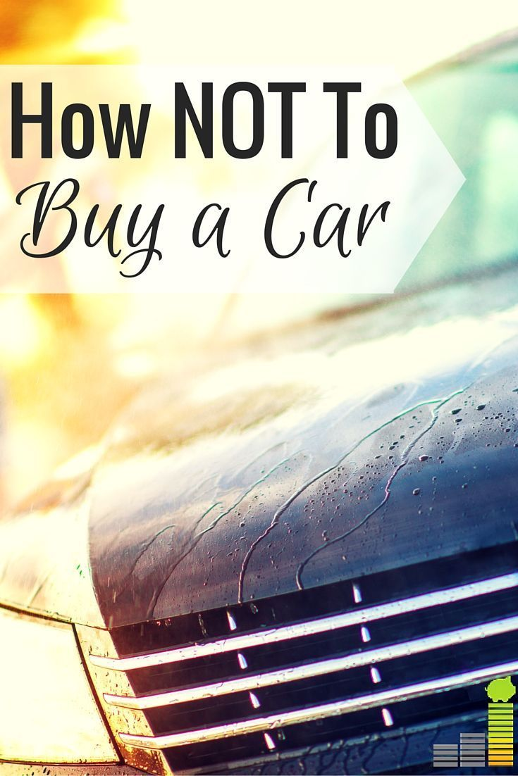 A car loan can be expensive, but mistakes make it even more so. If you're buying a car, learn from my mistakes and save money.