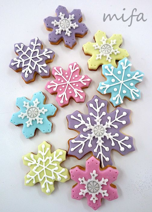 Winter Cookies by Mifa