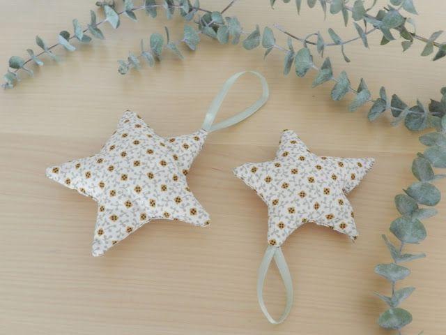 DIY: Estrellas de tela - Fabric Stars
