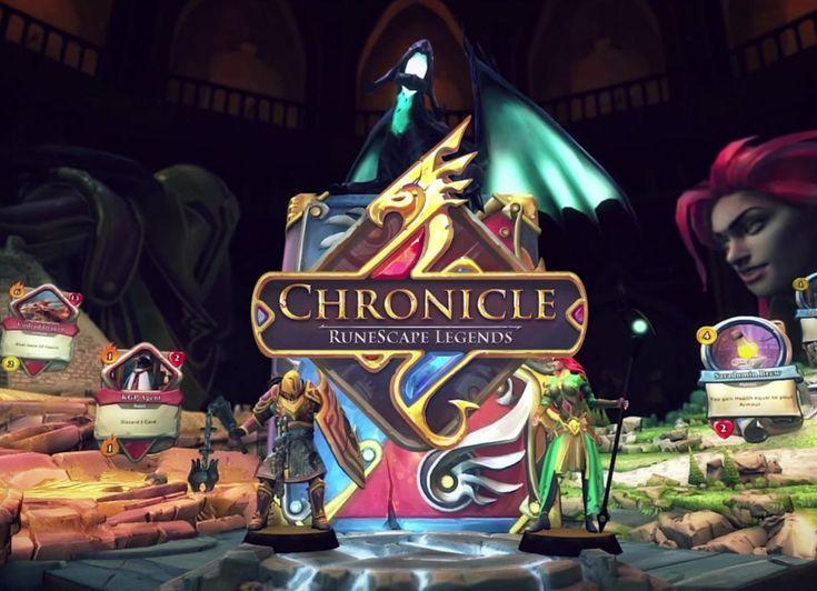 Chronicle: RuneScape Legends jest darmową grą TCG, jak sama nazwa wskazuje bazującą na uniwersum znanej i bardzo popularnej gry MMORPG RuneScape.