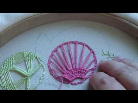 hand embroidery for beginners | hand embroidery art | hand embroidery stitches tutorial - YouTube