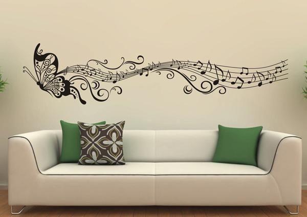 45 Beautiful Wall Decals Ideas Cuded In 2020 Wall Decor Bedroom Modern Wall Decor Cool Wall Art