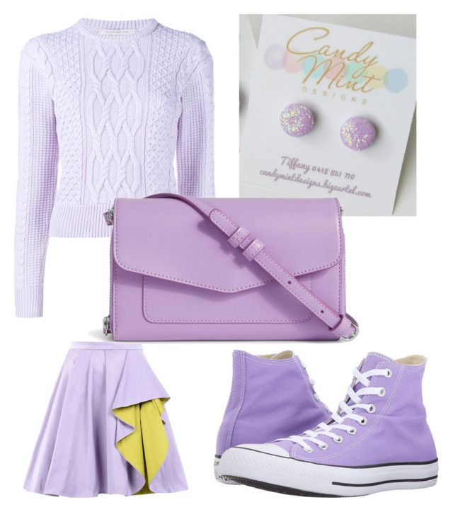 pastel lilac by tiffany-facebook on Polyvore featuring polyvore fashion style Christopher Kane Boutique Moschino Converse Vera Bradley clothing
