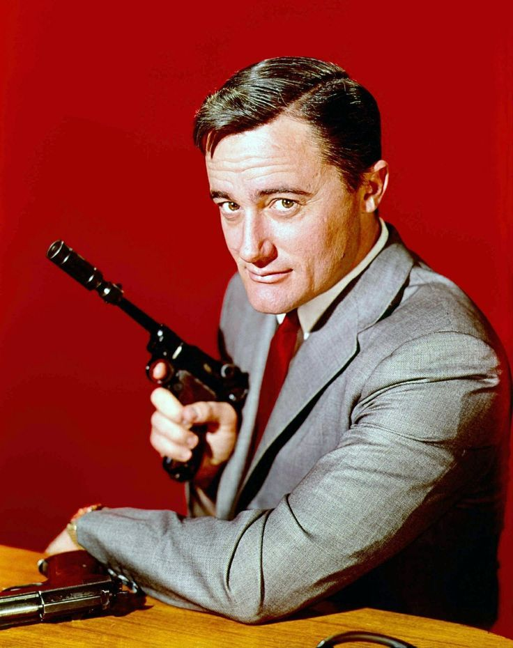 David McCallum (left) as Ilya Kuryakin and Robert Vaughn as Napoleon Solo in a scene from the film ' One Of Our Spies Is Missing', a spin-off from the television series ' The Man From UNCLE'. Description from gettyimages.co.uk. I searched for this on bing.com/images