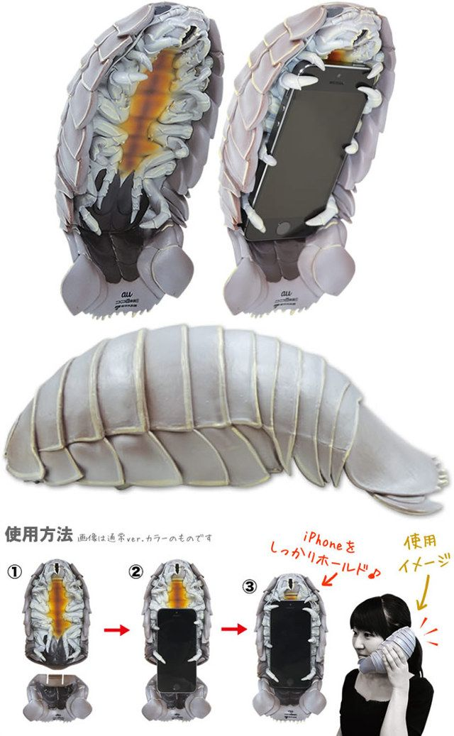 This thing creeps me out so bad: Giant Isopod iPhone Case
