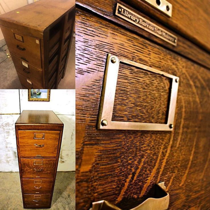 Here's a little #furniture #restoration #action for ya.  This #antique #Tiger #oak #library #bureau has made a #change for the better. All the way down to the #polished #brass pulls. Here's the #beforeandafter. #Enjoy #woodworking #oldfurniture #vintage #history #woodwork #oldschool #refinish #refurbished #cabinet #yeahthatgreenville #smallbusiness #craftsman #trade #worker de nook.and.cranny.company