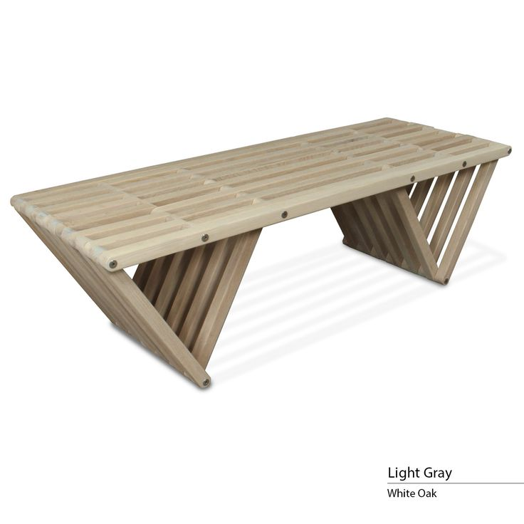 touchGOODS Premium White Oak Bench X90
