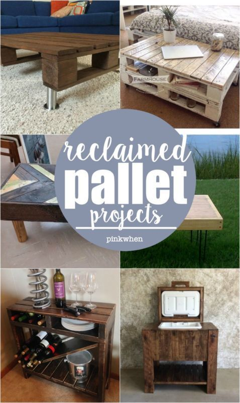 Reclaimed Pallet Projects | eBay